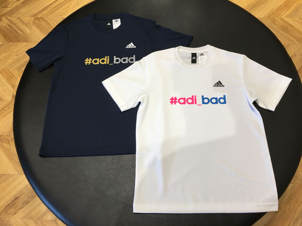 adi-bad Tシャツ♪ 数量限定☆