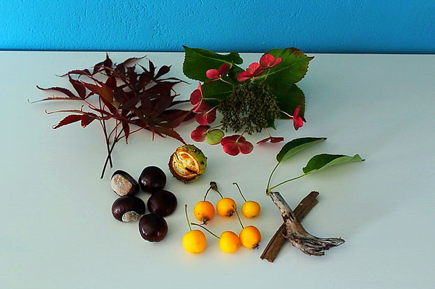 Herbst, Türkranz, herbstlicher Türkranz, Türkranz aus Stickrahmen, Herbstdeko, DIY Türkranz, Stickrahmen, Spitzentürkranz, Herbstfund, Herbstschätze, Kastanien, Zieräpfel, Hibiskusblüten