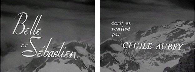 Belle et Sébastien Cécile Aubry