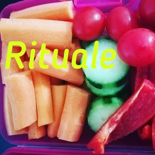 Gemüse schnippeln kann zu einem entspannten Ritual werden.. 😀