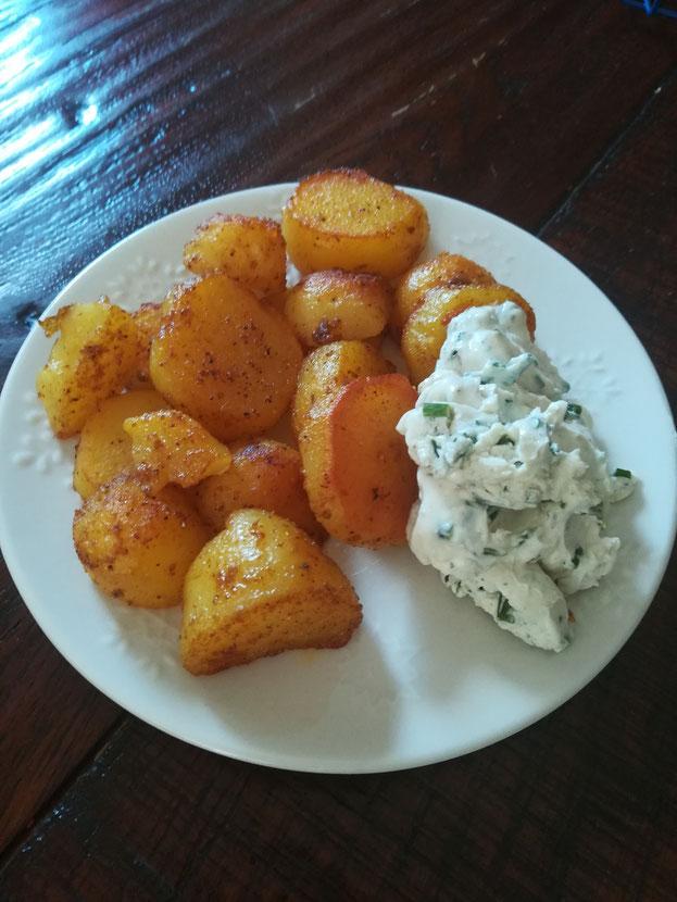 Bratkartoffeln: eine leckere gesunde Resteverwertung!