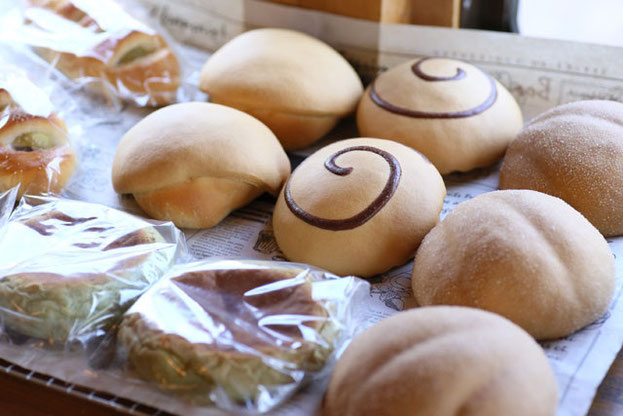 各種メロンパンもあります。