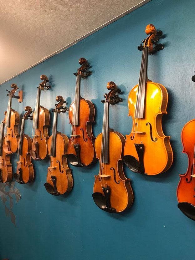 埼玉県蕨市 ビオラ、バイオリン、ピアノの音楽教室 エリムミュージックスクール 天沢バイオリン工房