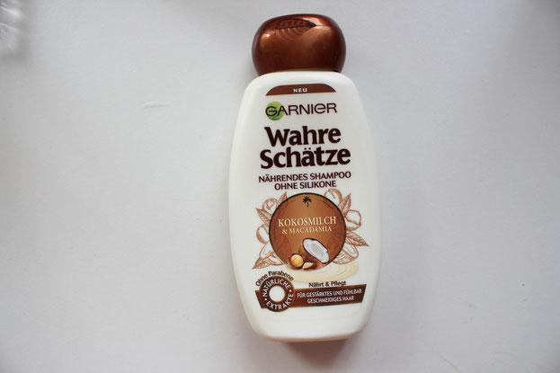 Garnier Wahre Schötze Nährendes Shampoo Kokosmilch & Macadamia