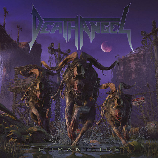 death angel »Humanicide« cover-artwork