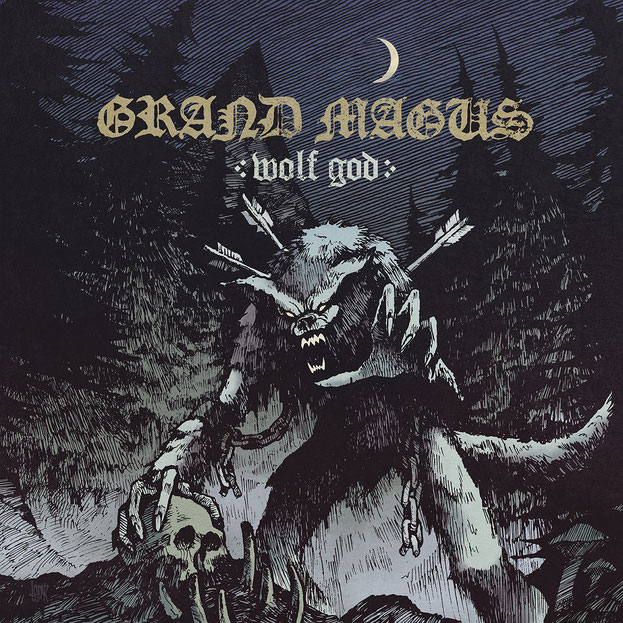 Grand Magus Album-Artwork Wolf God