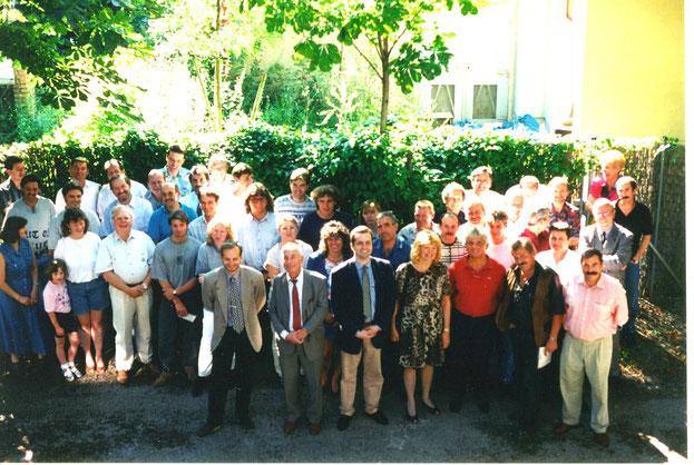 260 Jahres-Jubiläum der Unternehmensgründung: das Löblich Team 1998