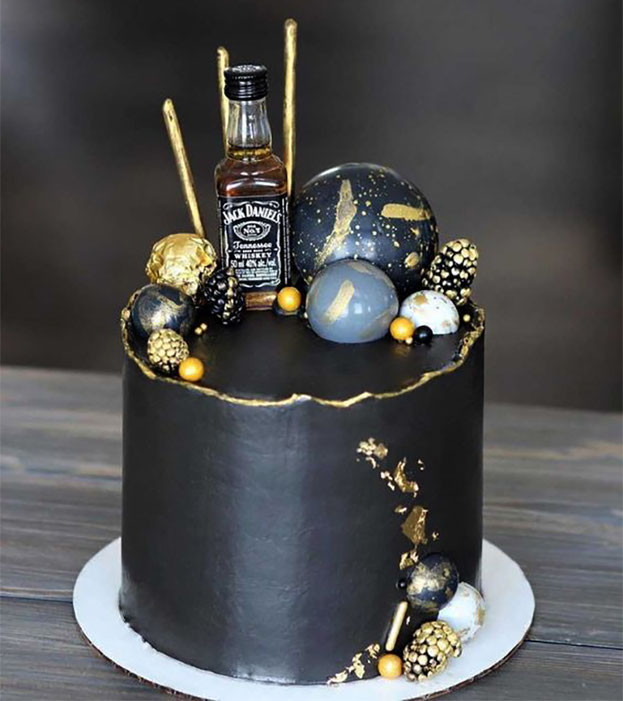 pastel para hombre creativo