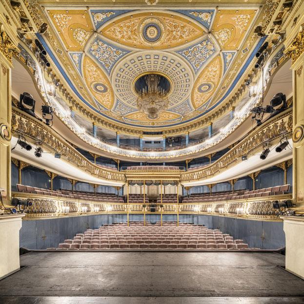 Landestheater Coburg - Zuschauerraum