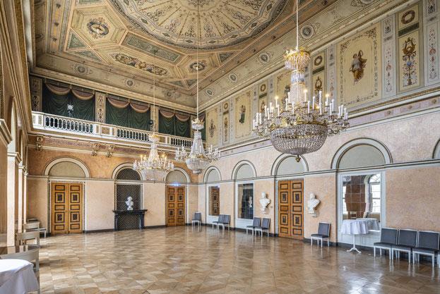 Architektur Coburg Theater Innenaufnahme Innen