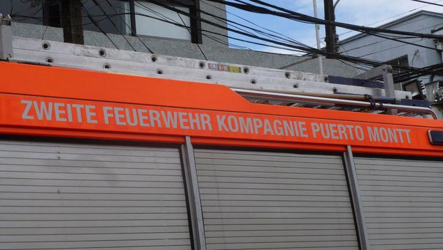 Bild: Zweite Feuerwehr Kompanie Puerto Montt