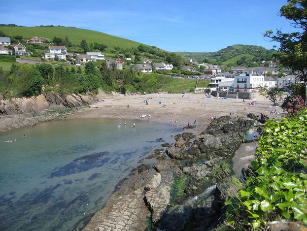 Combe Martin, Devonshire, UK