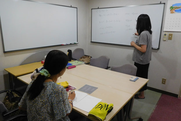 古川先生の授業風景