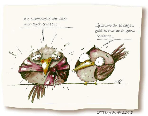 Vogelgrippe, Grippewahn,Grippewelle, ottbyrds,krankkheit,erkältung