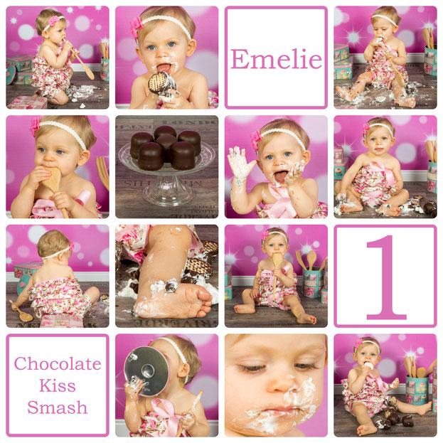 Chocolate Kiss Smash, Emelie-Juline, 10 Monate alt