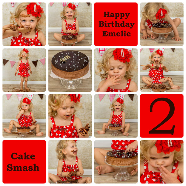 Cake Smash, Emelie-Juline, 23 Monate alt