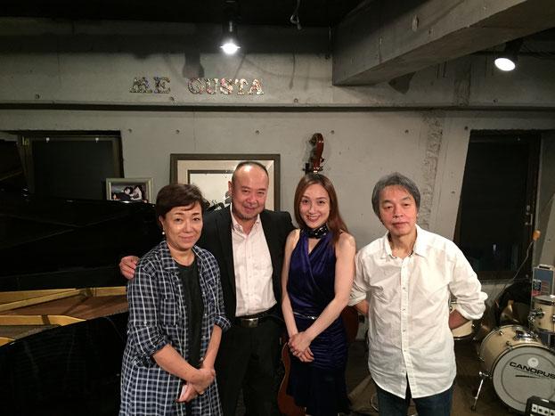 横浜ジャズプロムナード⭐️ME GUSTA 田中裕士トリオでの出演