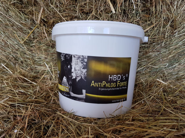 HBD's® ANTIPHLOG FORTE  enthält wertvolle Omega-3-Fettsäuren und Enzyme