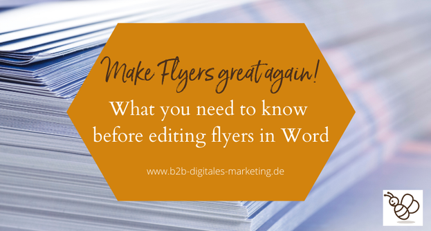 What to avoid if you want to pimp flyers in word