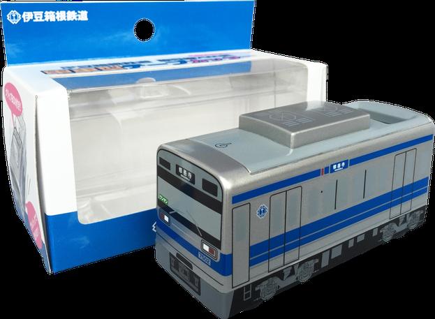 テープカッター 電車型 パッケージ