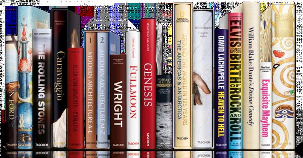 TASCHEN Verlag - Taschen ist ein familieneigener Verlag für Bildbände mit Publikationen zu den Themen Kunst, Architektur, Design, Film, Fotografie und Lifestyle