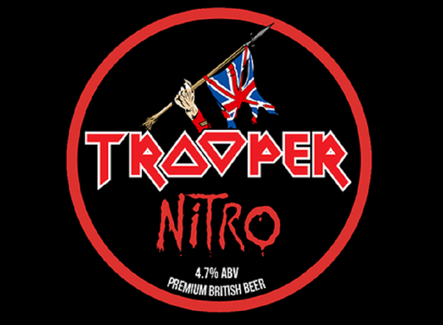 Iron Maiden Troper Nitro Bier Logo