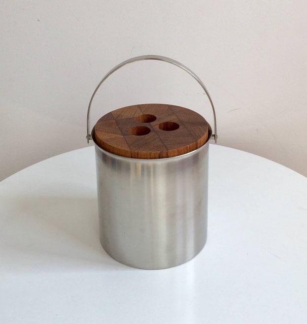 seau à glace, seau à glaçons, Arne Jacobsen, stelton of Denmark