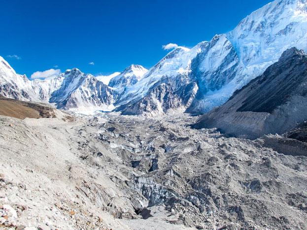 Der Khumbu-Gletscher