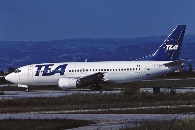 I-TEAA B737-3M8 24020/1614 TEA Italy - Trans European Airways @ Aeroporto di Verona - © Piti Spotter Club Verona