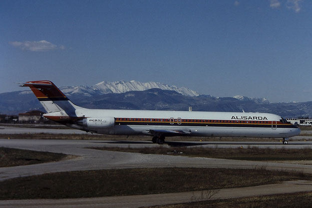 I-SMEI DC-9-51 47714/824 Alisarda - @ Aeroporto di Verona - © Piti Spotter Club Verona