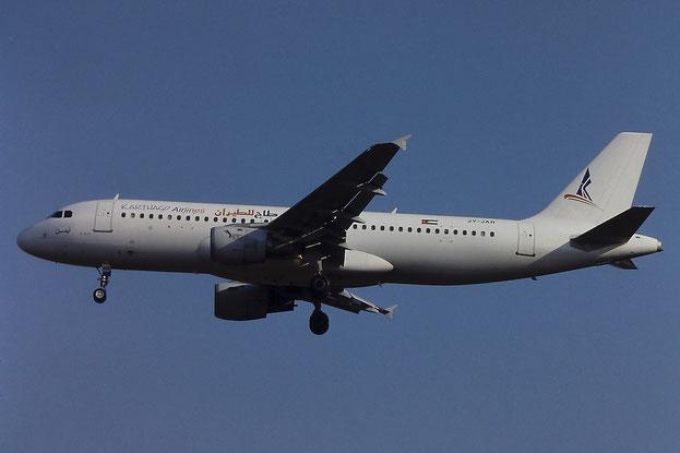 JY-JAR A320-211 234 Karthago Airlines @ Aeroporto di Verona - © Piti Spotter Club Verona