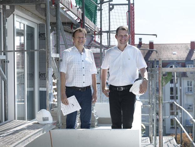 Die Geschäftsführer Gerold Köhler und Uli Meinzer