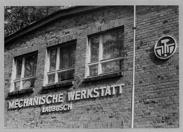 Mechanische Werkstatt Laubusch, Logo