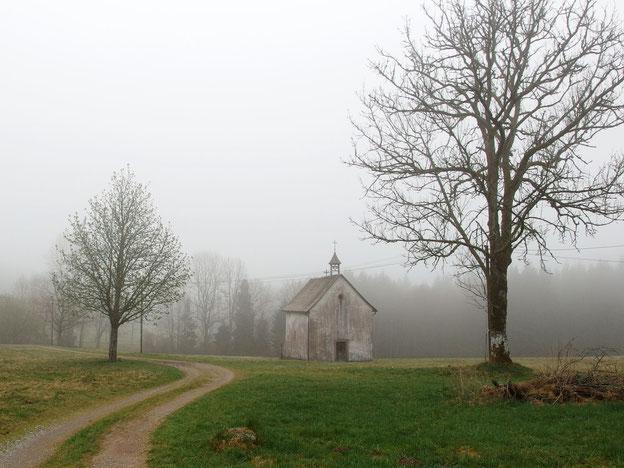 Die Kapelle 2013 - vor ihrer Renovierung