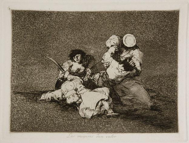 Plate 4: Las mujeres dan valor