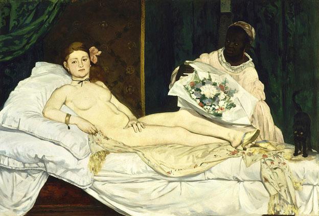 エドゥアール・マネ《オランピア》1863年