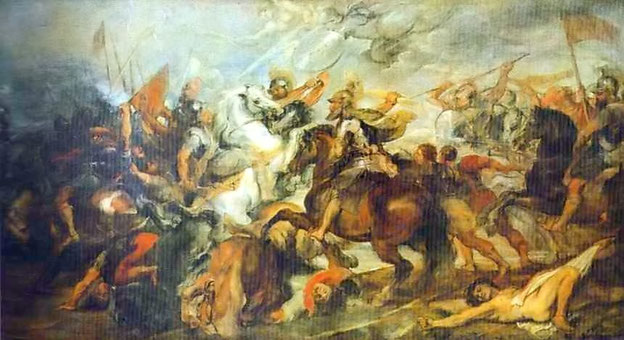 ルーベンス《アマゾン皮の戦い》