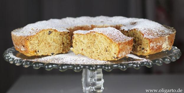 Saftiger Rührkuchen mit nativem Olivenöl extra Oligarto Rezepte
