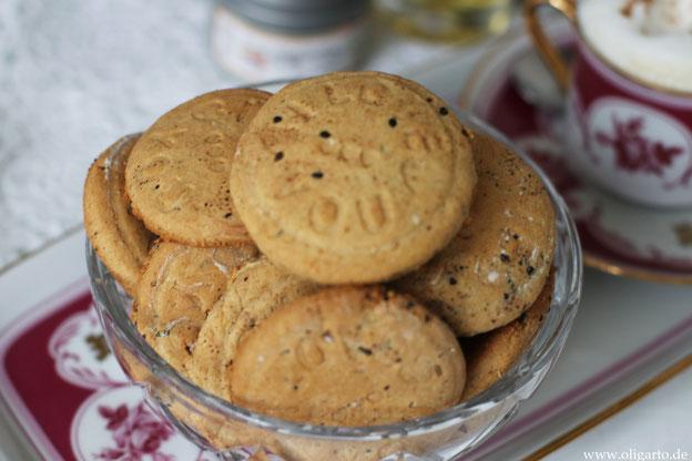 Hausgemachte Kekse ohne Zucker und ohne Milch Oligarto