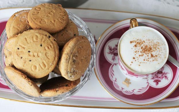 Kekse mit Honig und Olivenöl Oligarto Rezepte Backen