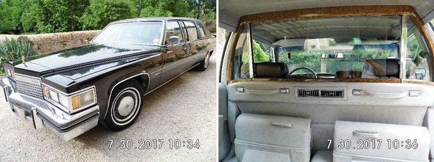 Limousine Cadillac de 1979