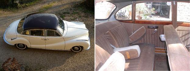 BMW 502 de 1956