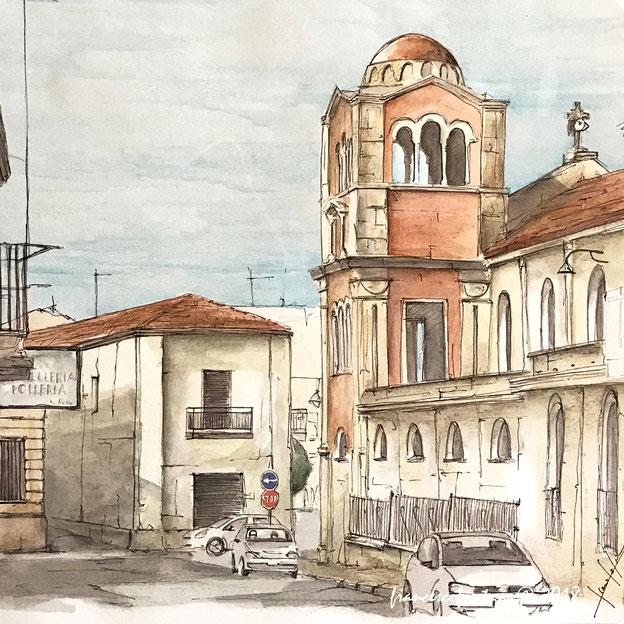 Verso la Chiesa Matrice, il duomo di Taurianova