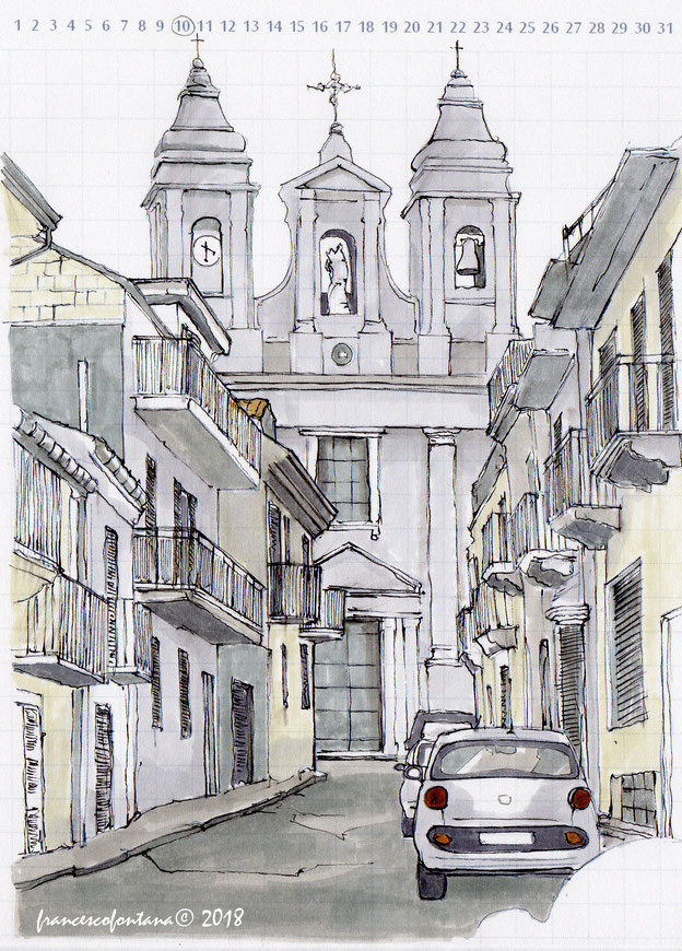 La chiesa del Rosario di Cittanova