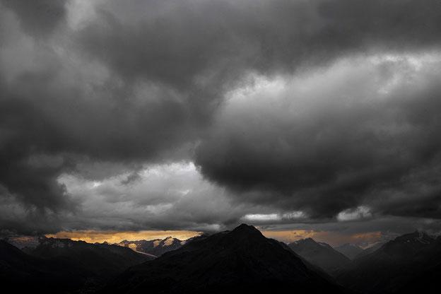 Wolken, Stimmung, Alpen