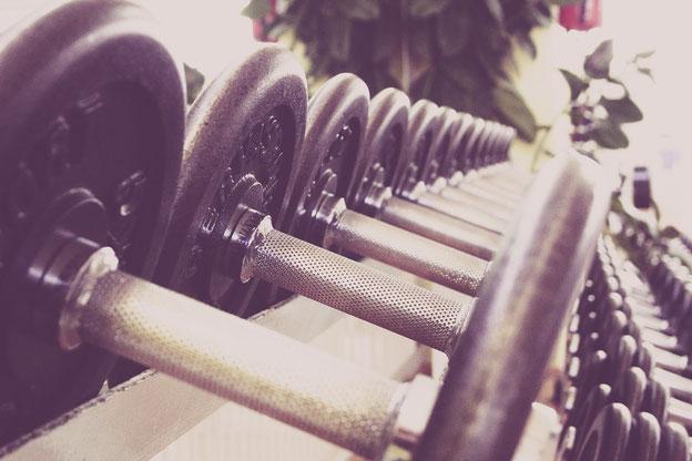 fitness, hanteln, fitness studio,