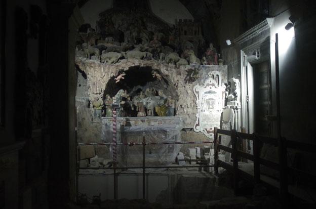 Krippe in der Kathedrale von Matera von Altobello Presio 16. Jahrhundert