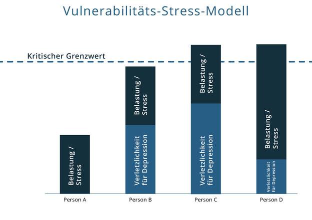 Vulnerabilitäts-Stress-Modell Ursachen psychischer Erkrankungen