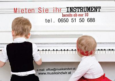 Mieten Sie Ihr Instrument