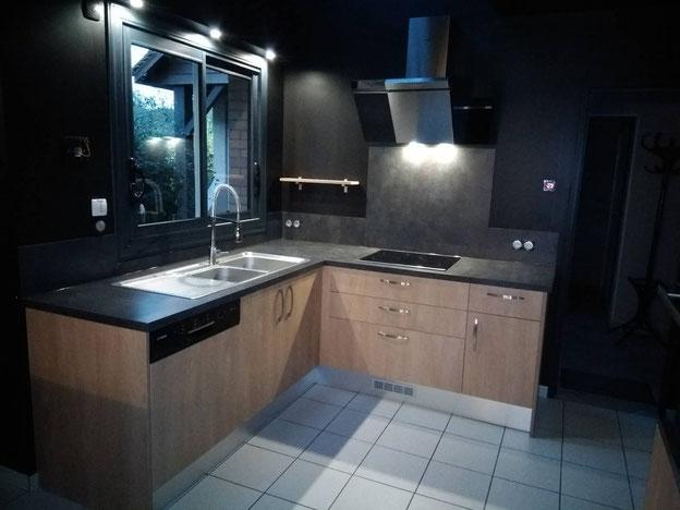 Métré - prise de côtes - schémas techniques électricité / plomberie - Cuisine Home Concept - suivi du dossier et des travaux